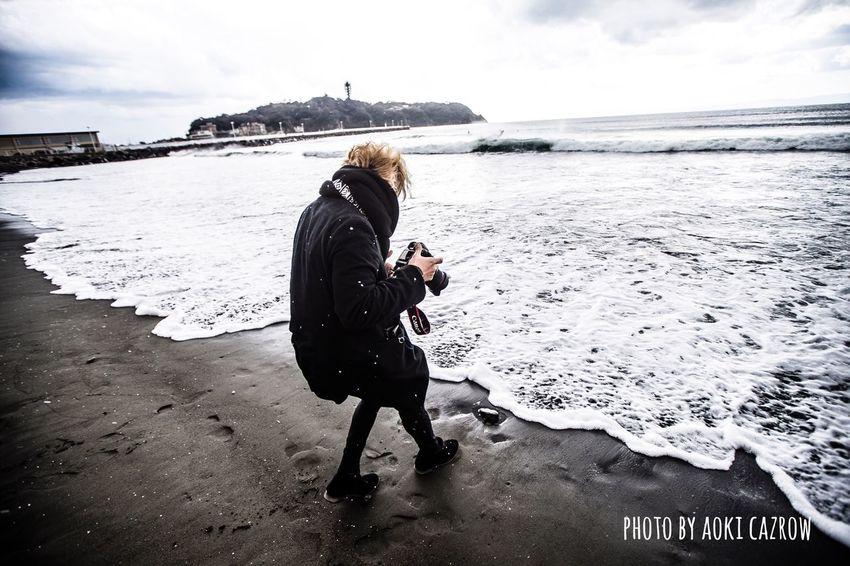 photo by 青木カズロー 江の島 藤沢 つるの剛士