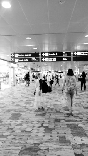 Changi Airport I Will Back Go Home Holiday Backpacker