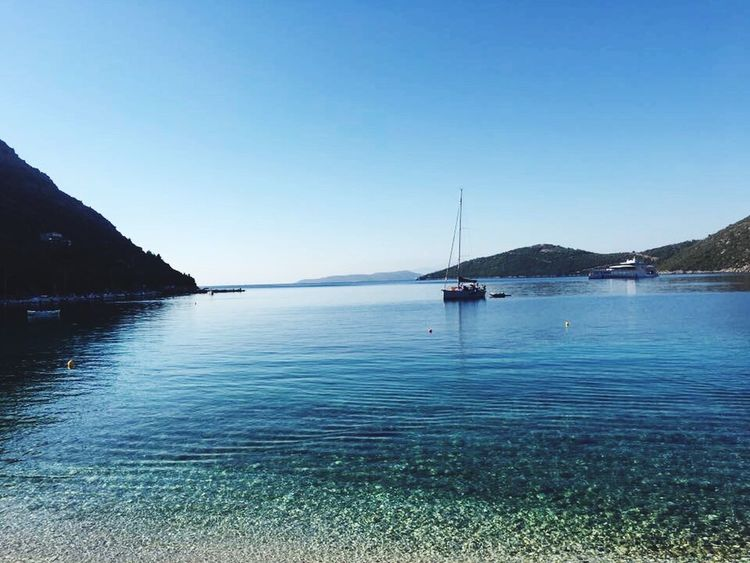 Hello World Greece Lefkada Island Poros