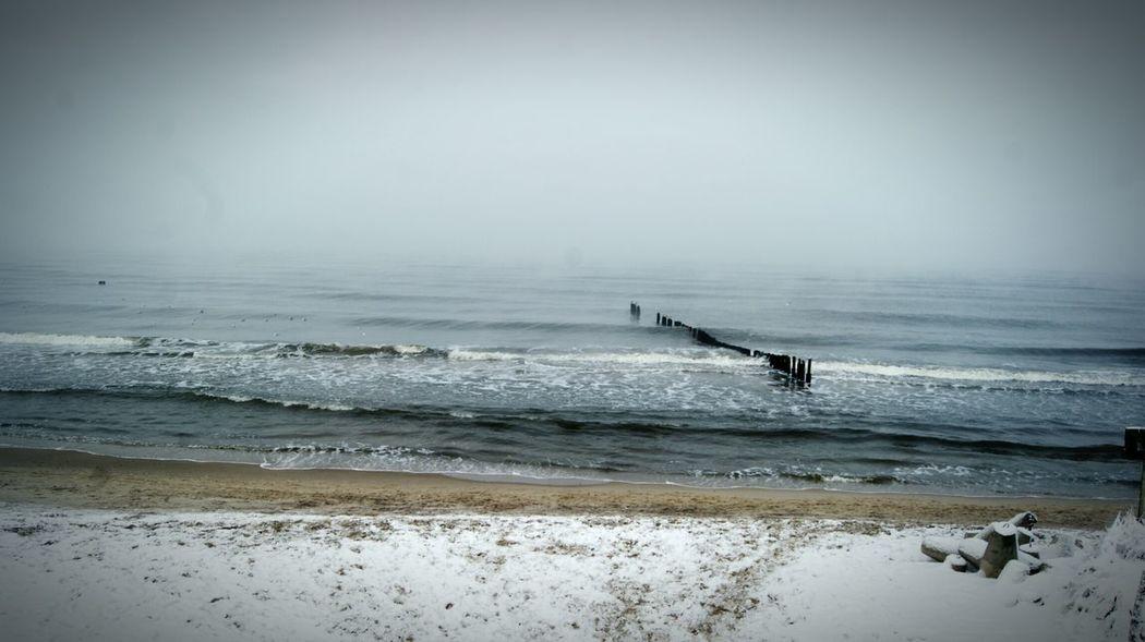 Seaside Winter EyeEm Nature Lover EyeEm Best Shots - Nature Mielno Plaża Baltic Sea