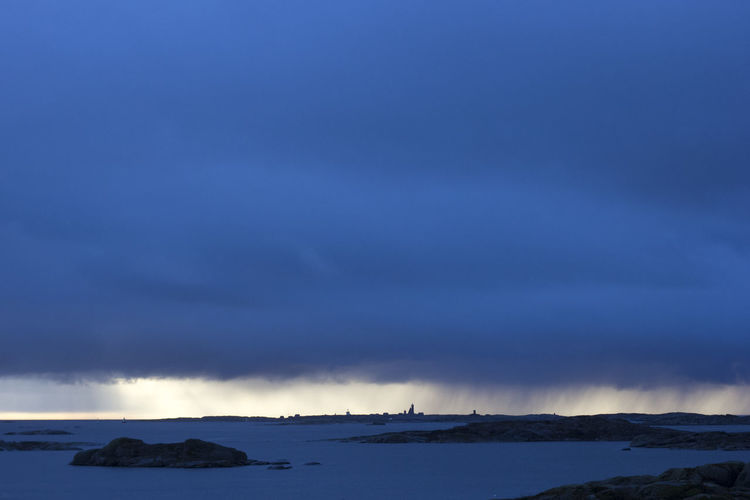 Cloudy Darkness Rain Scandinavia Shades Of Winter Sweden Vinga Winter Beauty In Nature Blue Cloud - Sky Cold Temperature Gothenburg Horizon Horizon Over Water Nature Night No People Outdoors Scenics Sea Sky Tranquility Water Winter