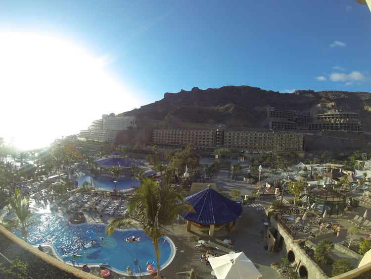 Bath Canary Islands City Life Holiday Hoyerswerda Nature Pool Poolside Sky Sun Sunlight Sunny Tourism Water