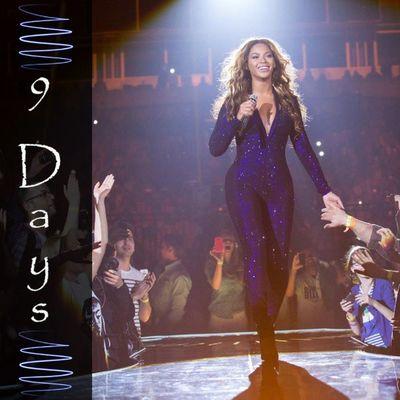 Coutdown Beyonce TheMrsCarter 9days belohorizonte MG