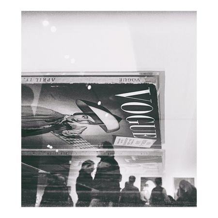 Exhibition Of The Week  Vogue Cover 1939 Sunday Düsseldorf Monoart Museum Of Modern Art Horst People Watching Observation Focus 14-2 Frame It! 2in1 Reflection