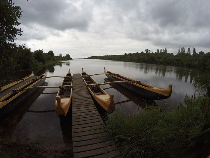Hello World FRANCE - Mimizan - Pirogues hawaiiennes / GoPro