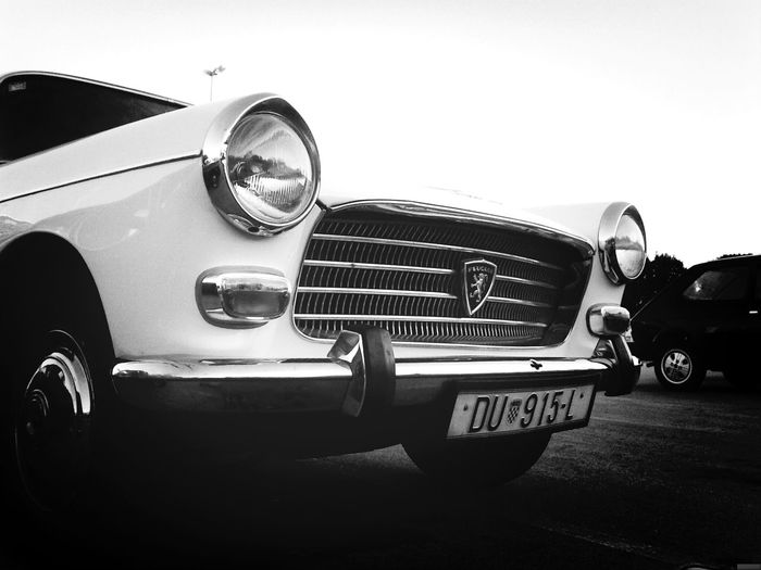 B&w Oldtimer Car First Eyeem Photo