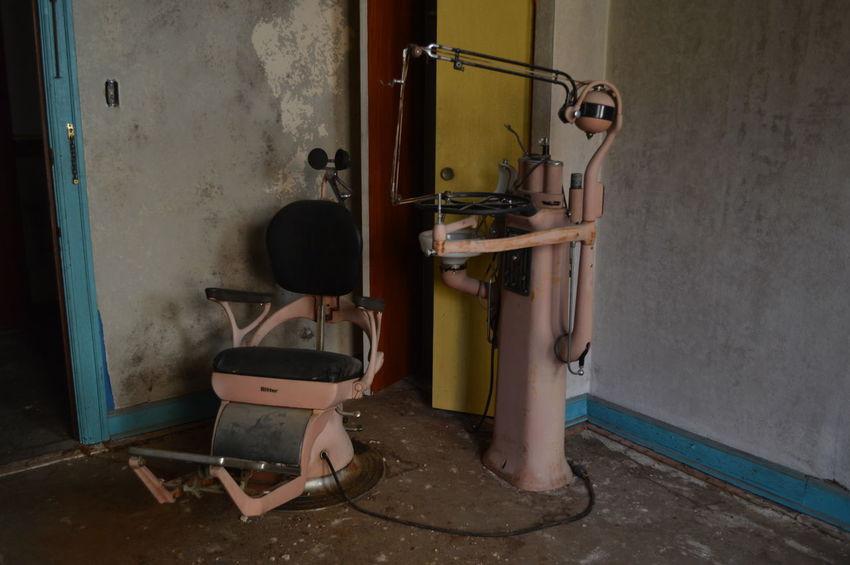 EyeEm Selects abandoned Abandoned Places Abandoned Photography Dentist Tools Dentist Chair Abandonedporn