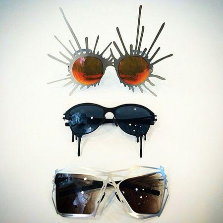 Icberlin Limitededition Sunglasses are available for Specialorder at jamesleonardopticians 329 6th ave. westvillage , 1010 2nd Ave. midtown & 309 smith st. brooklyn nyc jamesleonard shipworldwide email eli@jamesleonard.com