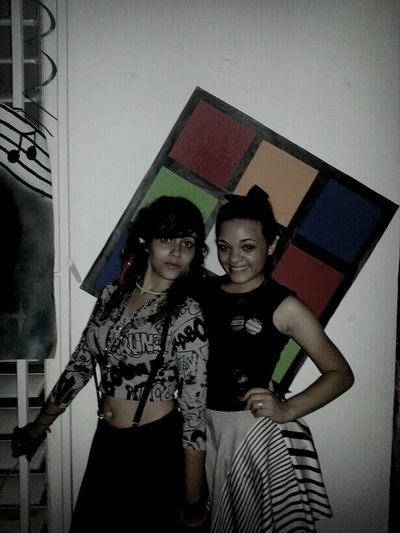 My Bestfriend <3 Birthdayparty 80's Style...