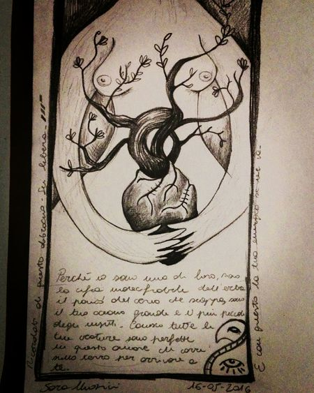 Drawing Sketch Love Nature Mothernature Hung Energy