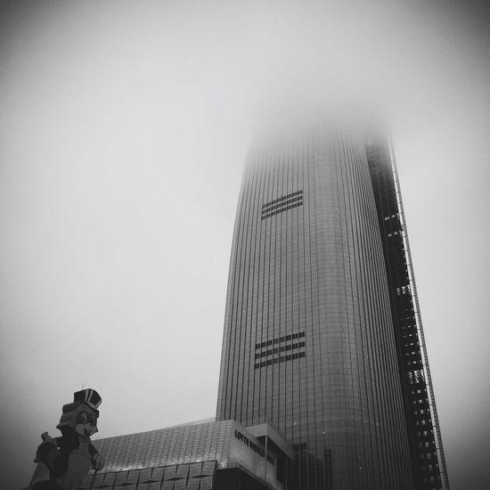 Urban Geometry Lotteworld Tower Construction Mist