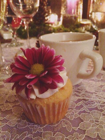 Wedding cake Wedding Cake Cupcakes Flower Cake Coffee Visual Feast