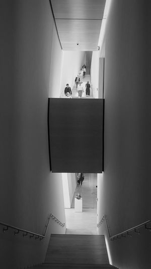 SFMOMA Monochrome Photography Indoors  Ceiling Staircase Steps Modern Steps And Staircase The Way Forward Day Convenience San Francisco SFMOMA SFMOMA Art Art Modern Art