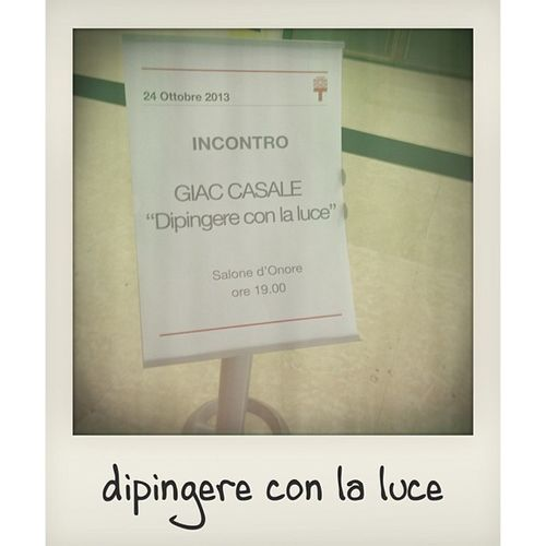 Dipingere con la luce #lectiomagistralis #GiacCasale #photography #triennale #milan Photography Milan Triennale LectioMagistralis Giaccasale