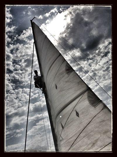 Navegando! Hanging Out Sailing Santiago De La Ribera Vela