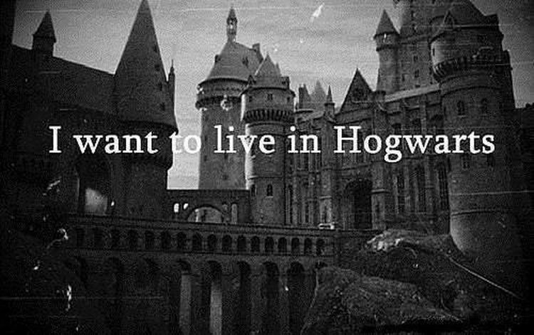 Dream Hogwarts im a magician, I know