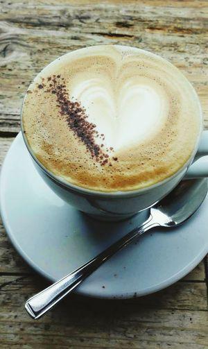 I love coffee Coffee Cup Cappuccino Indoors  LONDON❤ Morning Rituals Italian Coffeelover Coffee Art