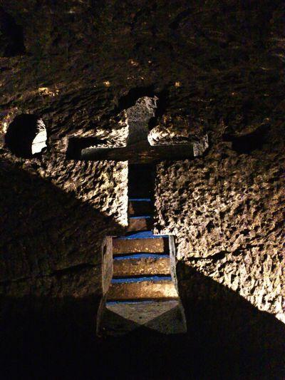 Jajce katakombe Katakombe Jajce Stairs