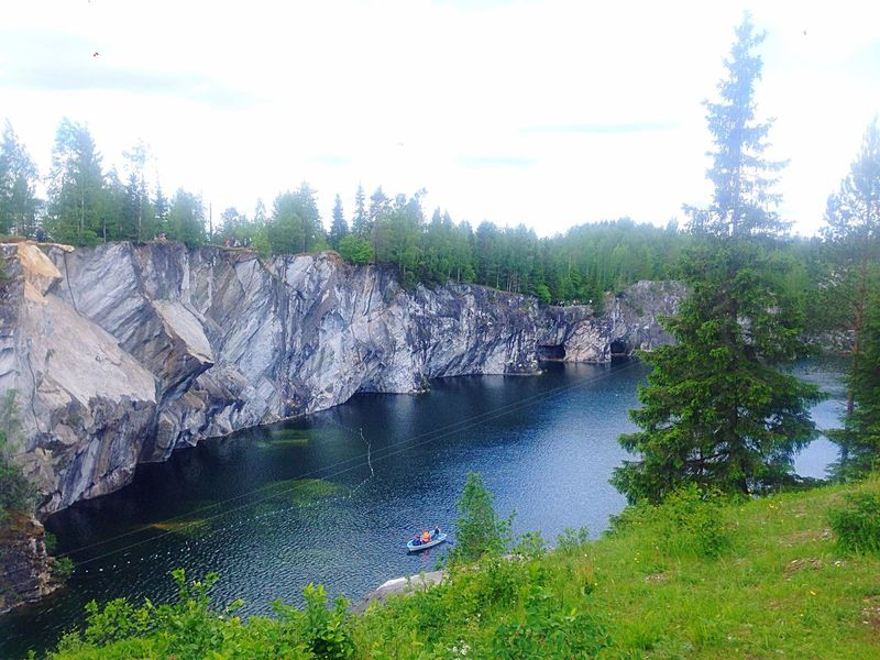 Karelia Marble Lake Nature