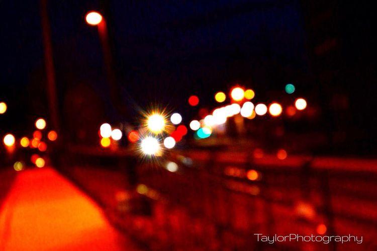 Bokeh.. Bokeh Train Station Colors Taylorphotography