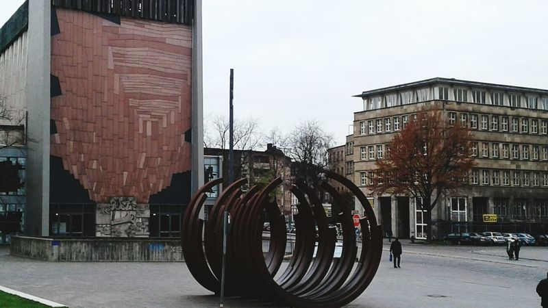 Square Duisburg | Germany Outdoors Built Structure Art Is Everywhere Streetphotography Autumn