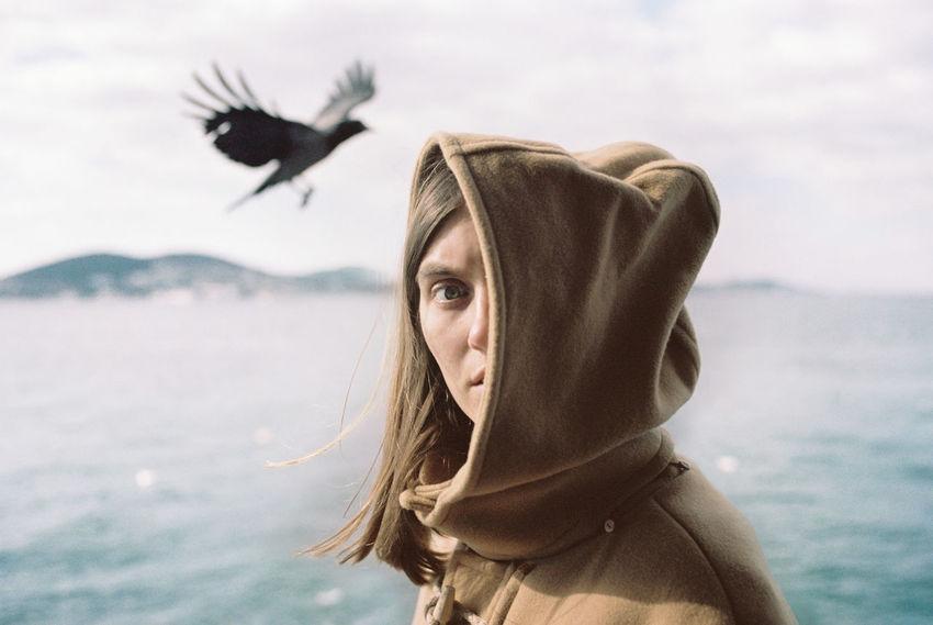 Sophie Bogdan 35mm 35mm Film Analogue Photography Bird Color Colors Film Filmisnotdead Sea Seagull The Portraitist - 2017 EyeEm Awards The Street Photographer - 2017 EyeEm Awards