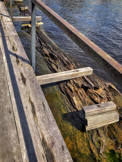 #NSFM Amazon Photography Floating Bridge Beauty In Nature Day Nature No People Outdoors Pier Rio Negro River Water Wood - Material Wood Paneling