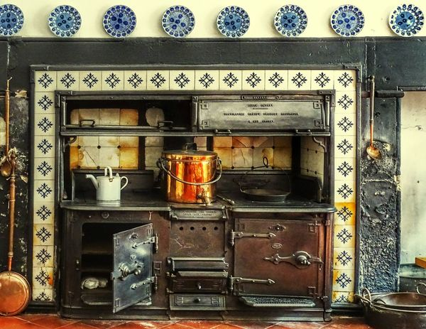 Furnitures Furniture Design Household Equipment Eye4photography  EyeEm Best Shots EyeEm Gallery EyeEm Selects Ireland🍀 Old House Kitchen Kitchen Life Kitchen Utensil Cooking At Home Fireplace Castle Text Close-up Architecture