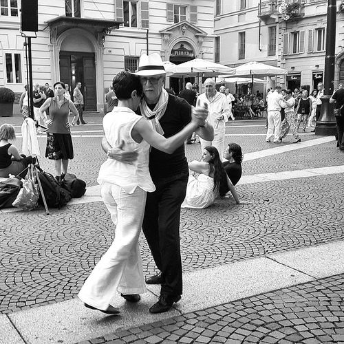 People Dancers Tango Dancers Happiness Is Everywhere Outdoors Music The Street Photographer - 2017 EyeEm Awards Men Women My Photography Capture The Moment Black And White City Life Summer Time