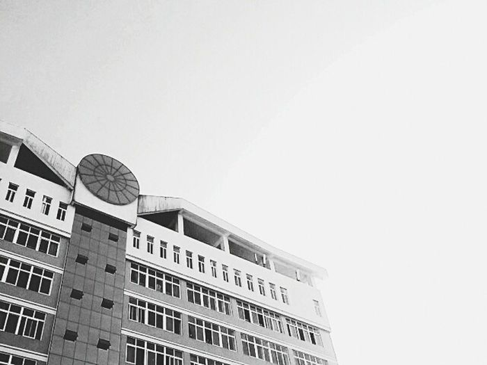 The Color Of School Teaching Building Memory College Life Blackandwhite Blackandwhitephoto Black&white