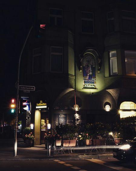 House front Housefront Hausfassaden Stsuibertus Ampel Trafficlight Traffic Lights Düsseldorf 2015 Düsseldorf ♡