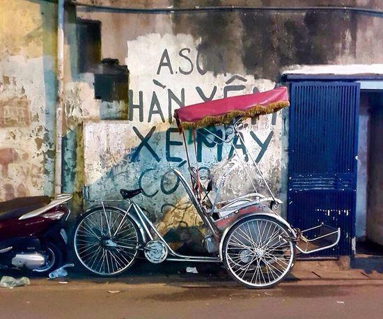 Cyclo Old Quarter, Hanoi Phố Cổ Hanoi, Vietnam Vietnam Street Photography