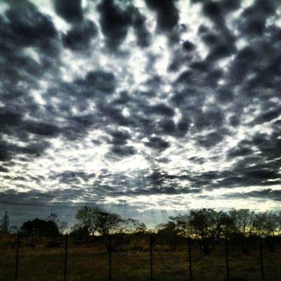 Frío y depresivo Sunrise And Clouds