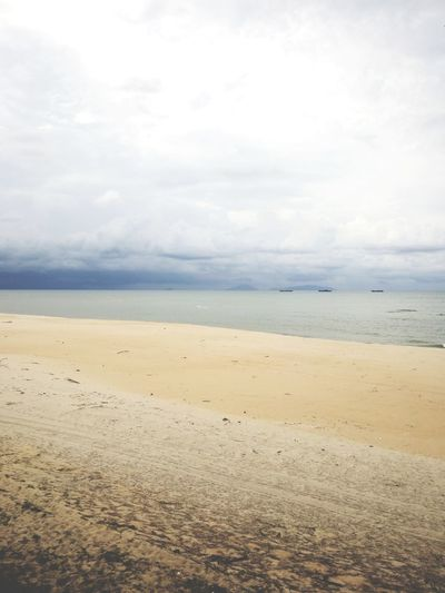 storm's coming Water Sand Dune Sea Low Tide Beach Wave Sand Pastel Colored Blue Seascape Atmospheric Mood