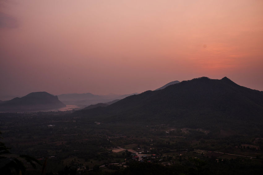 Beauty In Nature Chiangkhan Hill Landscape Mountain Nature Sunrise Thailand