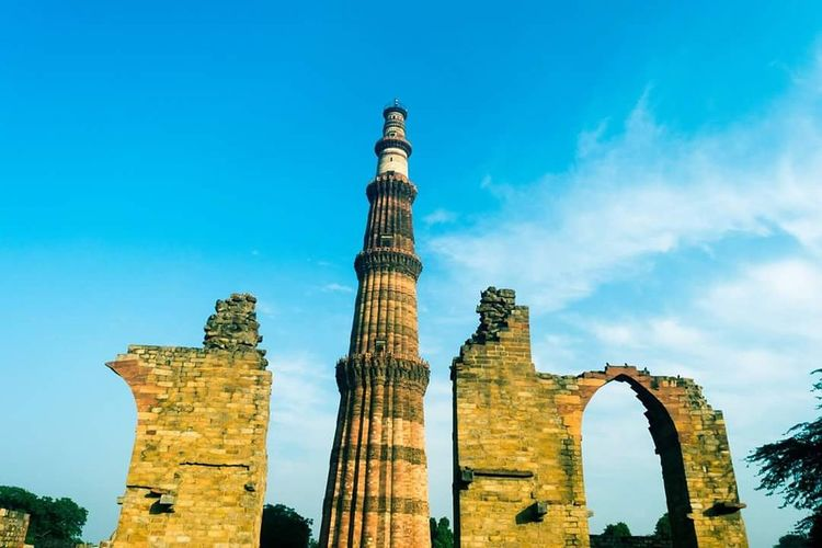 Historical Building Pride India QutubMinar Delhidiaries Wanderlust Travel Photography Nikonphotography