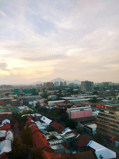 Cityscape Cloud - Sky City Life Downtown District Santiago De Chile