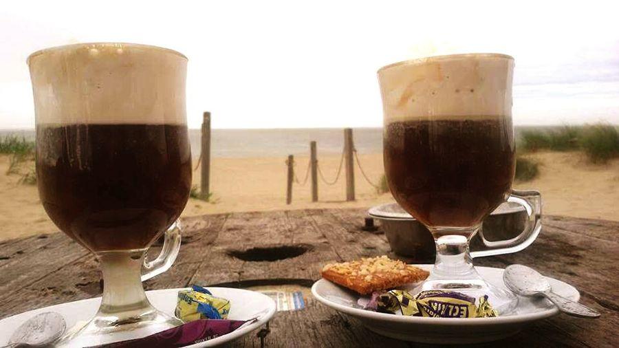 Coffee On The Beach Amazing View Texelpics