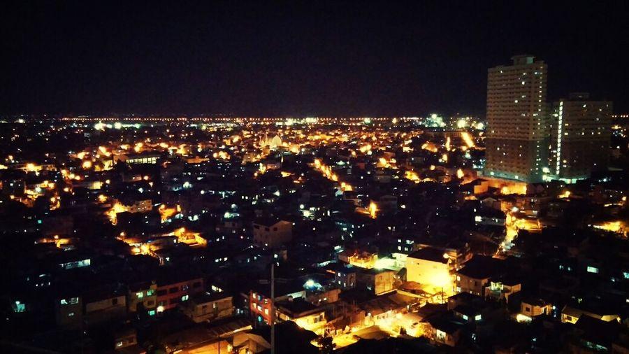 Boost Filter Night Lights Rooftop View  EyeEm Ambassador