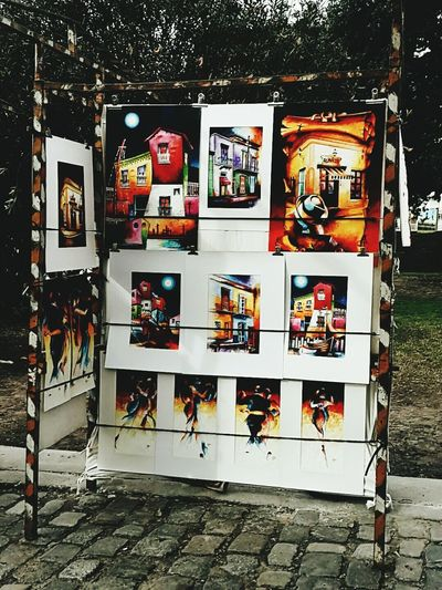 Paintings Street Art Artesanos Color Explosion Color Photography Bright Outdoors Buenos Aires, Recoleta Tourist Attraction  Buenos Aires, Argentina
