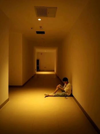 Shuming Sitting Domestic Room Full Length Women Young Women