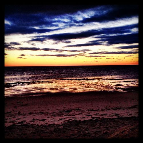 Cape Cod Beach Sunset