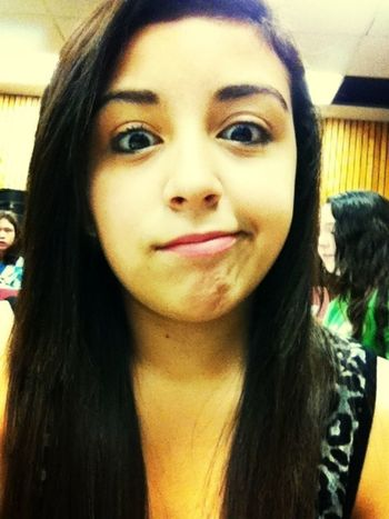 Being a weirdo!!!