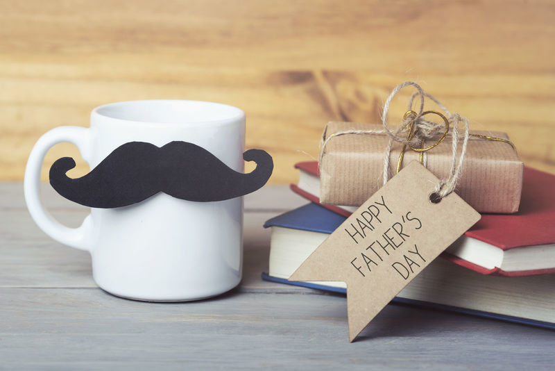 Books Celebration Coffee Dad Fun Greeting Tea Text Close-up Coffee Cup Communication Father Day Fathers Gift Greeting Card  Heart Hipster Indoors  Love Mustache No People Still Life Table Text