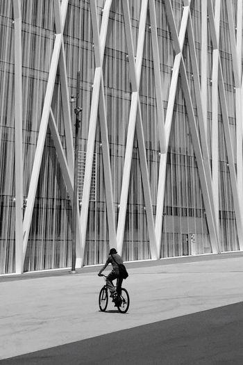 Bike Urban Geometry Urbanphotography Barcelona