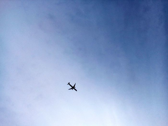 Sky Flying Airplane Airshow Clear Sky No People Air Vehicle Day Outdoors Low Angle View Fighter Plane Transportation Aerobatics First Eyeem Photo