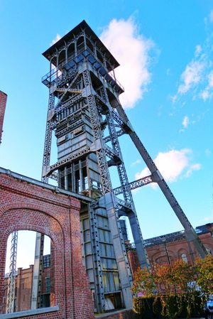 1 of the 2 Mine Shaft of Genk . This is the little one😀😄 History Architecture Old Buildings Colorized Taking Photos Enjoying Life That's Me Hello World Here Belongs To Me Check This Out Fun Apple Iphone6plus