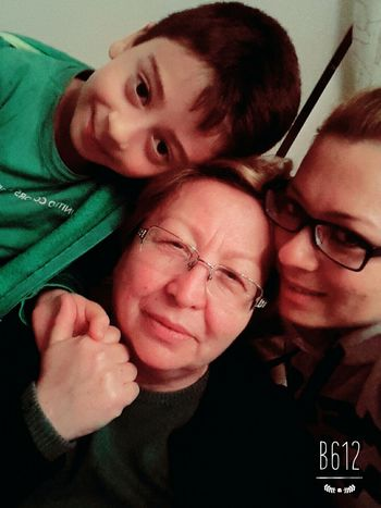 with mum and my son ... MySON♥ MyMum Lovethem♥ Hello World EyeEmBestPics Happiness Cheese! Faces Of EyeEm Helloworld Love ♥