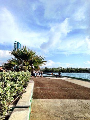 Nassau, Bahamas Walkway Vacation Sunshine