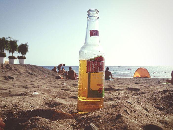 Beach Aperitif Desperados Beer Tenerife Canary Islands Sunset EyeEm Best Shots - Sunsets + Sunrise